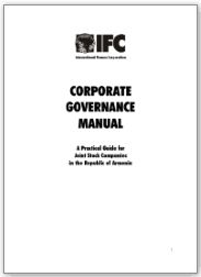 Armenia Corporate Governance Manual